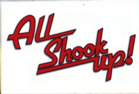 All Shook Up Broadway Fridge Magnet